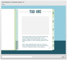 Folder tabs: An #elearning template for #Articulate Storyline ...
