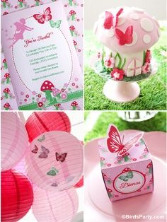 Pixie Fairy Princess may be the theme for Bella's 1st birthday. Like this idea but in purple, blue, & greens instead… How to Style a DIY Pixie Fairy Birthday Party! by Birds Party | best stuff