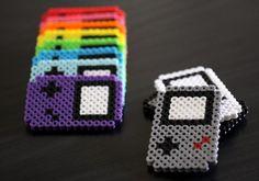 perler beads game boy;