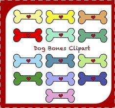 Sale Dog Bone Clipart Dog Bones Dog Clipart Animals