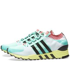 adidas blends '90s style with modern looks in these ultra-comfy shoes. These EQT Support RF PK sneakers are built in a one-piece Primeknit sock upper with extra-soft knitted ribbing around the collar. '90s colours on the knit and a contrast outsole add style and knitted 3-Stripes echo in the comfy EVA midsole. Bold Colourway Primeknit Uppers Knitted Collar Ribbing Ortholite® Sockliner Torsion® System Compression Moulded Eva Midsole External Heel Cage Rubber Outsole Style Code: BA7506