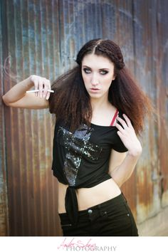 Fashion - Grunge - Amber Shaw Photography - DC Makeup - Kylie DeMann - Haley Nord