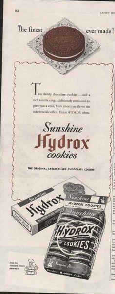 Sunshine Hydrox Cookies (1950)