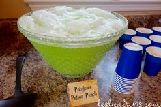 Polyjuice Potion punch