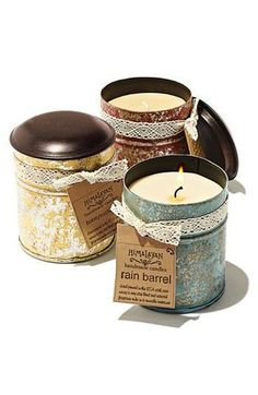 Need a last minute gift?  The 'Spice Tin' Candle makes a great present.