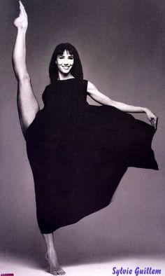 Sylvie Guillem  [real life dancer who Sylvie Laurent, Sophie & Juliette's mom, is modeled after]