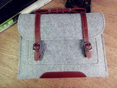 felt Macbook Air 13.3 sleeve Macbook air holder by FeltSJie