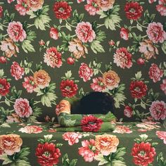 cecilia peredes  #colour #painting #background #blending #disguise #floral #pattern