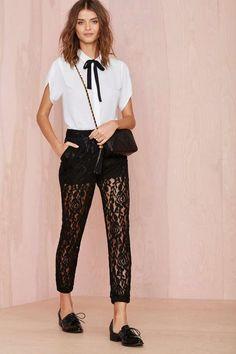 Cherysse Pant - Black | Shop Sale at Nasty Gal