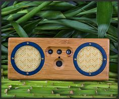 Bongo Bamboo Portable Speaker