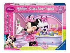 Ravensburger Puzzle - Giant Floor Puzzle Disney Minnie Mouse Bow-Tique (24Pcs) (05319)  Manufacturer: Ravensburger Enarxis Code: 015894 #toys #puzzle #Ravensburger #Disney #Minnie