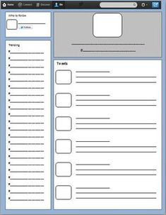 twitter template blank teaching goodies group board share your