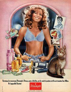 Triumph (Lingerie) vintage advertisement, 1976