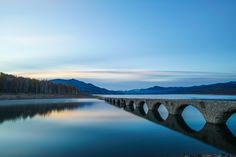Kamishihoro-chō, hokkaidō, Japanで撮影されたタウシュベツ橋梁の写真 タウシュベツ川橋梁の朝 : パシャデリック