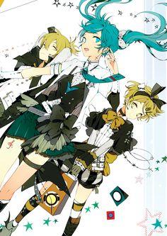 Suou, Vocaloid, Kagamine Len, Kagamine Rin, Hatsune Miku.
