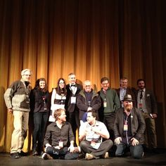 At the premier of Time Zero:the last year of Polaroid film in Boston, MA. On hand were Grant & Sara Hamilton and some of the cast and crew, including Tod Brilliant, Sean Tubridy, Dan Weissman, Jackie Neal Chadwick, our own Dave Bias and Polaroid legend Paul Giambarba.   Google Image Result for http://blog.the-impossible-project.com/images/2000.jpg