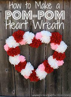 DIY Valentine Wreaths Inspiration
