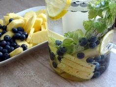 Fruit Salad, Pudding, Grill, Drinks, Pineapple, Drinking, Fruit Salads, Beverages, Custard Pudding