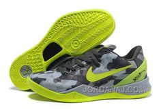 http://www.jordanaj.com/nike-zoom-kobe-viii-mens-gray-fluorescence-green-for-sale.html NIKE ZOOM KOBE VIII MENS GRAY FLUORESCENCE GREEN FOR SALE Only $119.00 , Free Shipping!