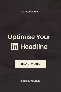Want to optimise your LinkedIn to increase your leads? The headline is one of the most important aspects to get right on LinkedIn but often the most ignored section. We share the exact formular that you can use to increase your business. #LinkedIntips #LinkedInmarketing #LinkedIn #marketingtips #socialmediatips #socialmediamarketing #socialmediatools Content Marketing Strategy, Small Business Marketing, Business Tips, Social Media Marketing, Online Business, Social Media Tips, Web Design, Butter, Digital