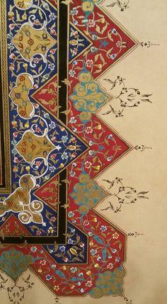 Islamic Motifs, Islamic Patterns, Islamic Art, Arabic Pattern, Pattern Art, Paisley Art, Arabesque Pattern, Islamic Paintings, Turkish Art