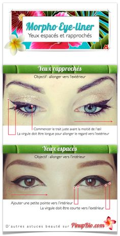 morpho-eye-liner-yeux-espaces-yeux-rapproches #makeup #eyeliner #pinup