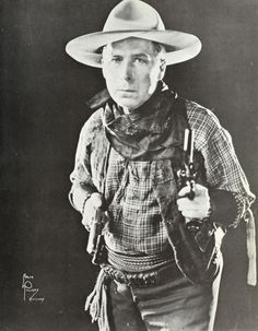Film star William S.Hart owned the Horseshoe Ranch in California, wild west cowboy star. Silent Film Stars, Movie Stars, Victor French, Western Film, Tv Westerns, Kings Man, Roaring Twenties, American History, Actors & Actresses