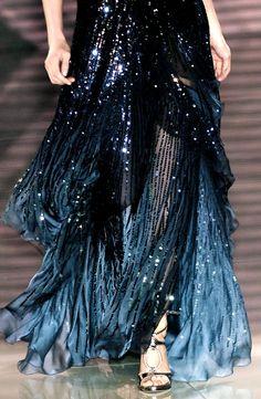 Dark mermaid skirt