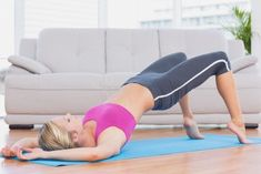These are the best yoga poses for pelvic floor problems and slowly moving through these postures is important, so you don't overload the muscle groups. Beginner Workouts, Workout For Beginners, Easy Workouts, Bola Medicinal, Pelvic Tilt, Pelvic Floor Exercises, Cool Yoga Poses, Floor Workouts, Muscle Fitness