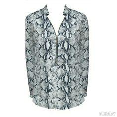 New snakeskin blouse in stores! #fashion #fashiongallerysa #winter #jhb #madeinsa