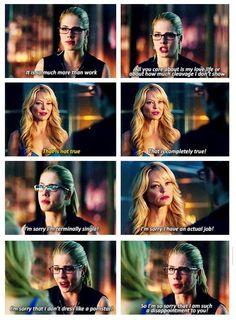 Arrow - Donna and Felicity Smoak #3.5 #Season3 <3