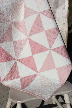 Sweet quilt for baby girl