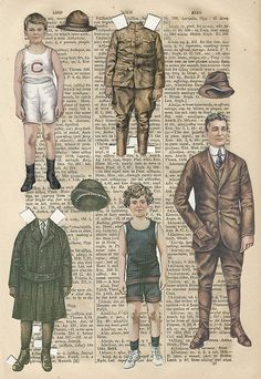 Vintage Paper Doll | Lettie Lane , Sheila Young, Illustrator for Ladies Home Journal.