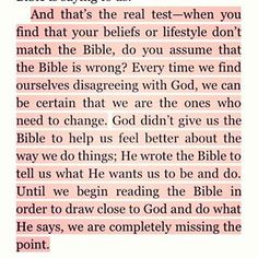 GOD'S WORD IS TRUTH!!