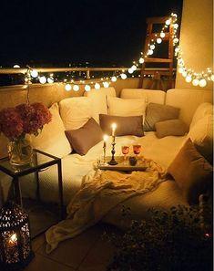 O romantismo está no ar nesta varandinha...Veja mais 10 neste post