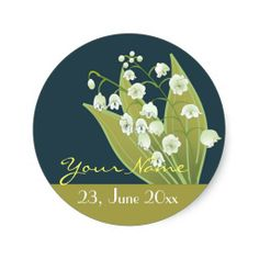 Lily of the Valley Bouquet Stickers