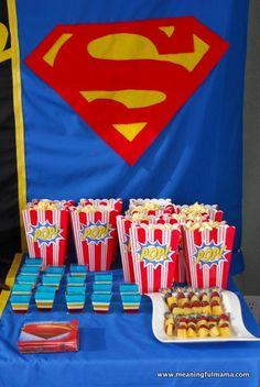 1-#superhero birthday party #ideas #3 year old-053