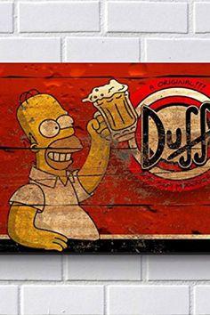 Decoração Geek  Placas Vintage Cerveja Duff Simpsons  marvel  marvelcomics   marveluniverse  herois 1fde63cfaf5