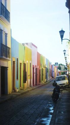 What's with the pastels?  This is Mexico, y'all. Campeche Mexico