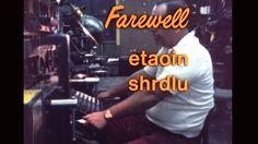 Farewell - ETAOIN SHRDLU - 1978 on Vimeo