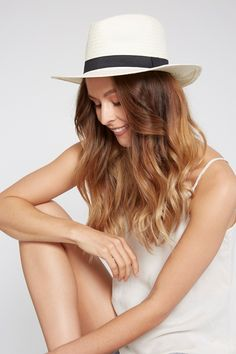 Our classic fedora silhouette is a refreshed take on a wardrobe staple. A must-have piece for everyday style with a black ribbon. Black Ribbon, Wardrobe Staples, Grosgrain, Everyday Fashion, Silhouette, Paper, Classic, Collection, Style