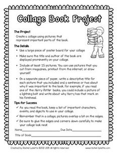 Book Report Projects with Grading Rubrics Book Report Projects, Book Projects, Reading Strategies, Reading Comprehension, Teaching Reading, Teaching Ideas, Learning, 6th Grade Activities, Book Report Templates