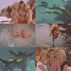"""Aesthetic"" : : Just Add Water. H2o Mermaid Tails, No Ordinary Girl, H2o Mermaids, Water Aesthetic, Mermaid Under The Sea, Girl In Water, Old Disney, Pretty Photos, Aesthetic Pictures"