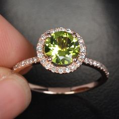 peridot- my birthstone! Didnt really like it Till now...