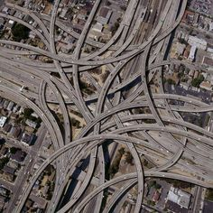"#Pinterest Intersección ""High Five"" situada en la ciudad de Dallas, Estados Unidos."