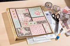 Ringbuch mit Patchwork-Deckel - VBS-Hobby.com