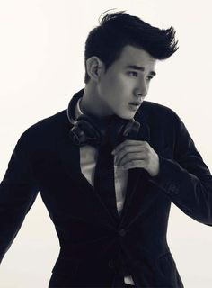 If there's anyone that has the right to be called a SHAG (Smoking Hot Asian Guy), that would have to be Mario Maurer. Mario Maurer, Asian Male Model, Thai Model, Now And Forever, Asian Actors, Hot Guys, Hot Men, Asian Men, Celebrity Crush