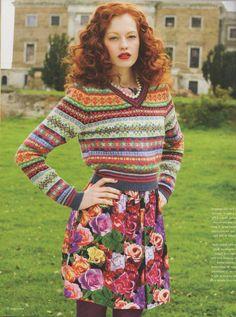 Hello Kelli: fair isle knitting obsession