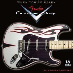 Fender Custom Shop Guitar 2012 Wall