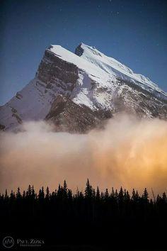 Mt Rundle Banff Alberta..Paul Zizka
